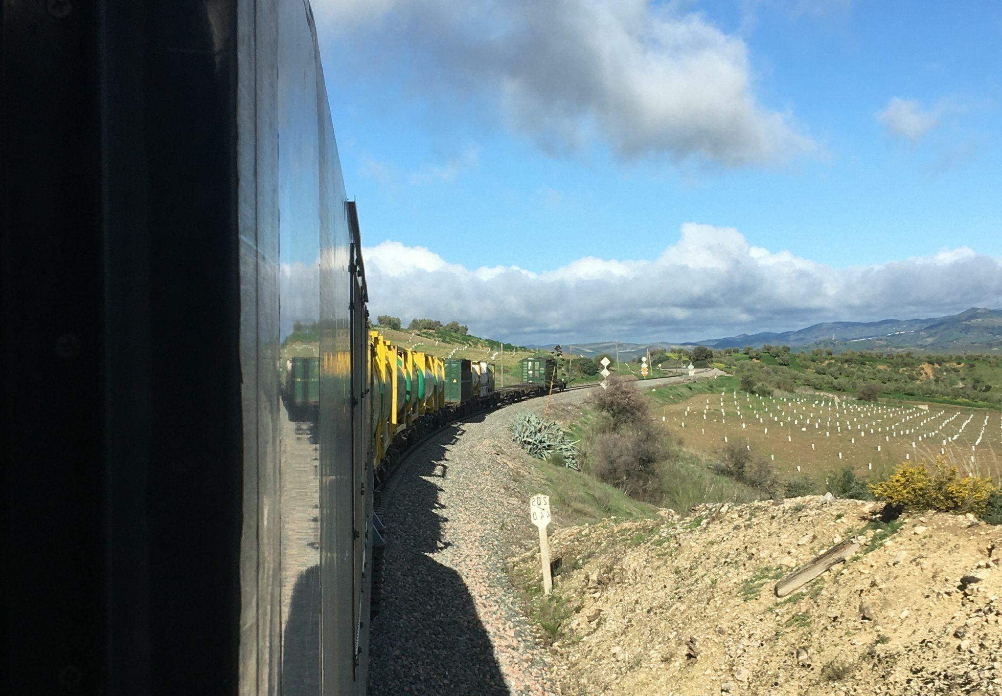 Tren Multirail de Almargen a Setenil